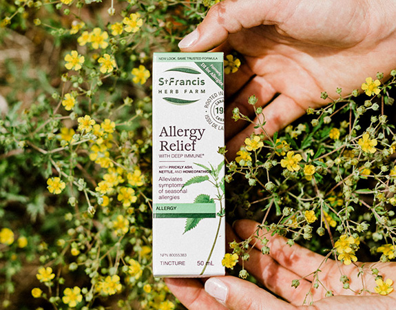 Allergy Relief with Deep Immune
