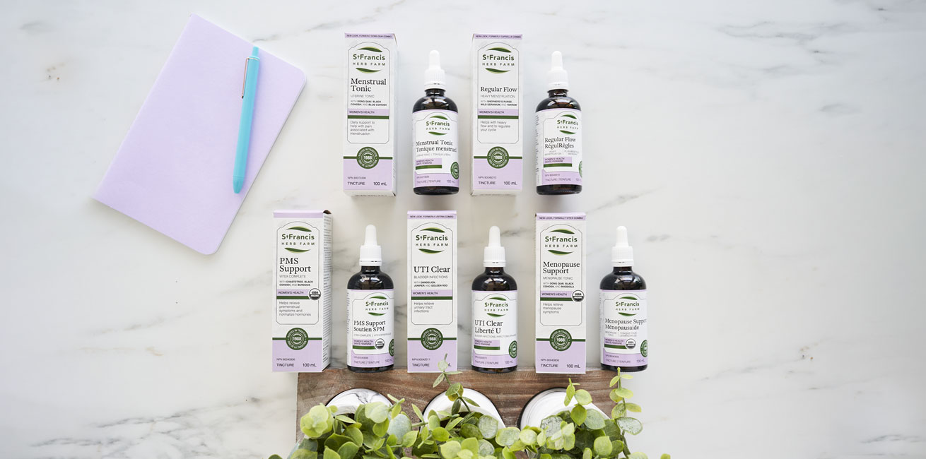 St Francis Herb Farm's Women's Health Line of Products