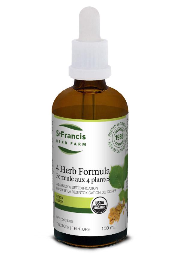 4 Herb Formula - By St. Francis Herb Farm
