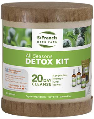 All Seasons Detox Kit - By St. Francis Herb Farm