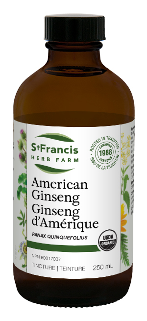 American Ginseng - By St. Francis Herb Farm