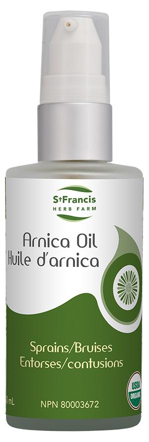 Arnica Oil - By St. Francis Herb Farm