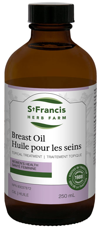 Breast Oil - By St. Francis Herb Farm