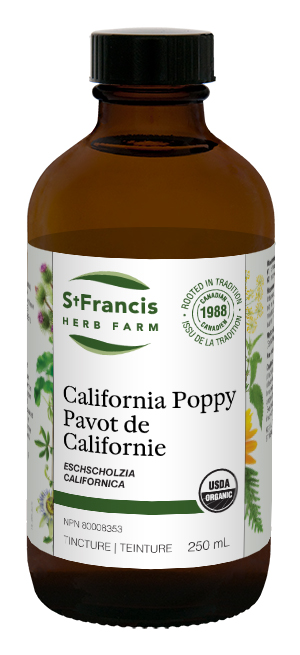 California Poppy - By St. Francis Herb Farm