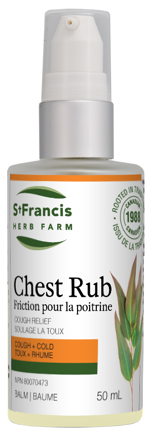Chest Rub - By St. Francis Herb Farm