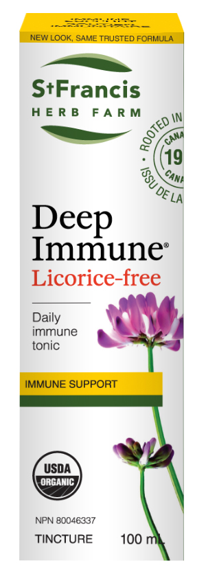 Deep Immune Licorice-Free - By St. Francis Herb Farm