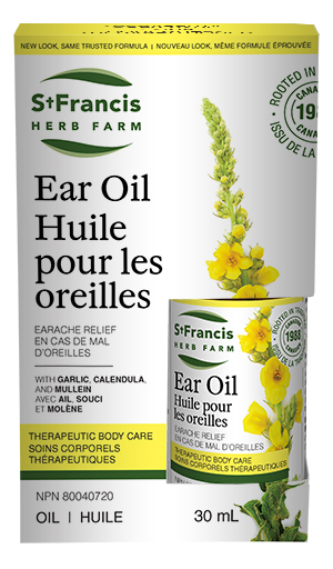 Ear Oil  - By St. Francis Herb Farm