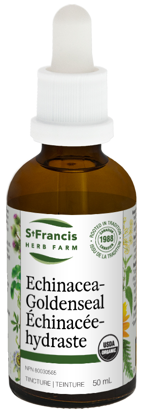 Echinacea Goldenseal - By St. Francis Herb Farm