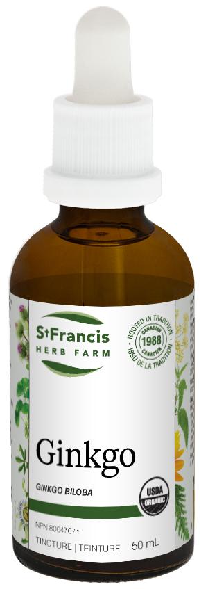 Ginkgo - By St. Francis Herb Farm