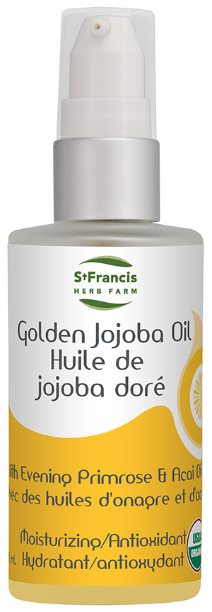 Golden Jojoba Oil - By St. Francis Herb Farm