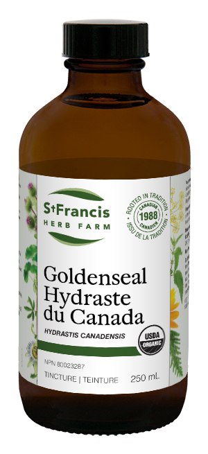 Goldenseal - By St. Francis Herb Farm