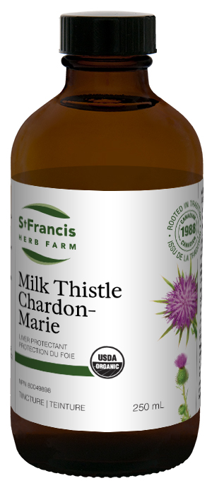 Milk Thistle - By St. Francis Herb Farm