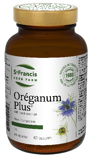 Oréganum Plus Capsules - By St. Francis Herb Farm