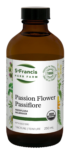 Passion Flower - By St. Francis Herb Farm