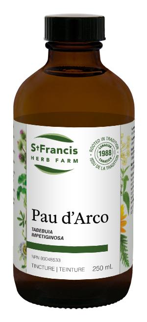 Pau D'Arco - By St. Francis Herb Farm