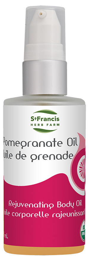 Pomegranate Oil - By St. Francis Herb Farm