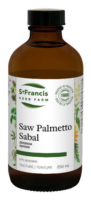 Saw Palmetto - By St. Francis Herb Farm