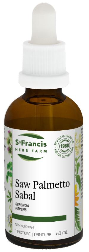 Saw Palmetto - By St. Francis Herb Farm