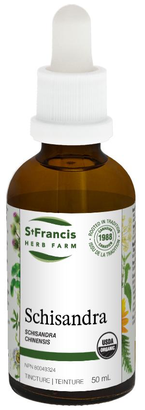 Schisandra - By St. Francis Herb Farm