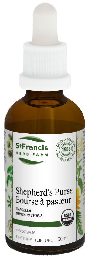 Shepherd's Purse - By St. Francis Herb Farm