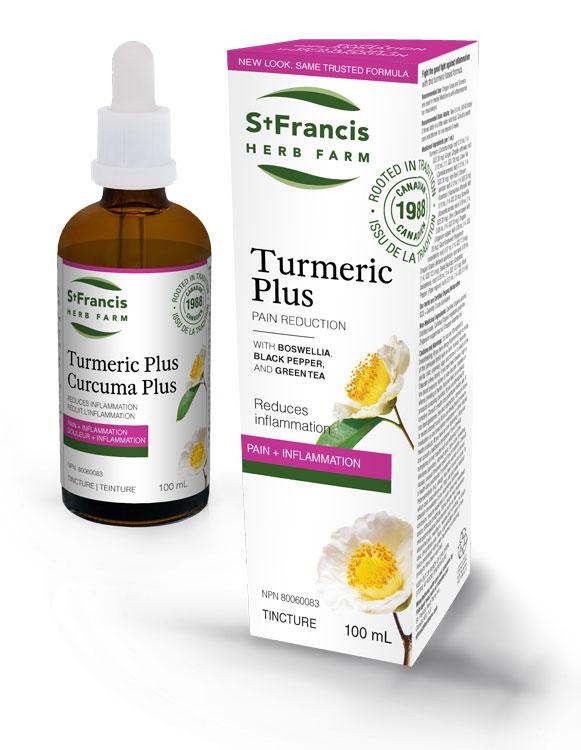 Turmeric Plus - By St. Francis Herb Farm