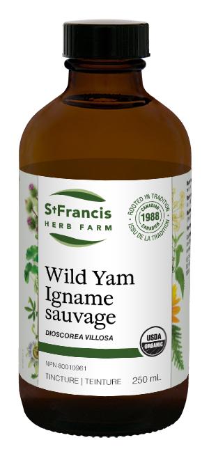Wild Yam - By St. Francis Herb Farm