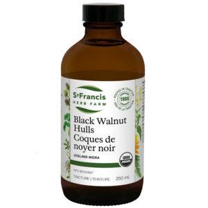 Black Walnut Hulls - By St. Francis Herb Farm