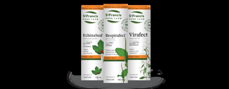 Echinaseal, Respirafect, Virafect
