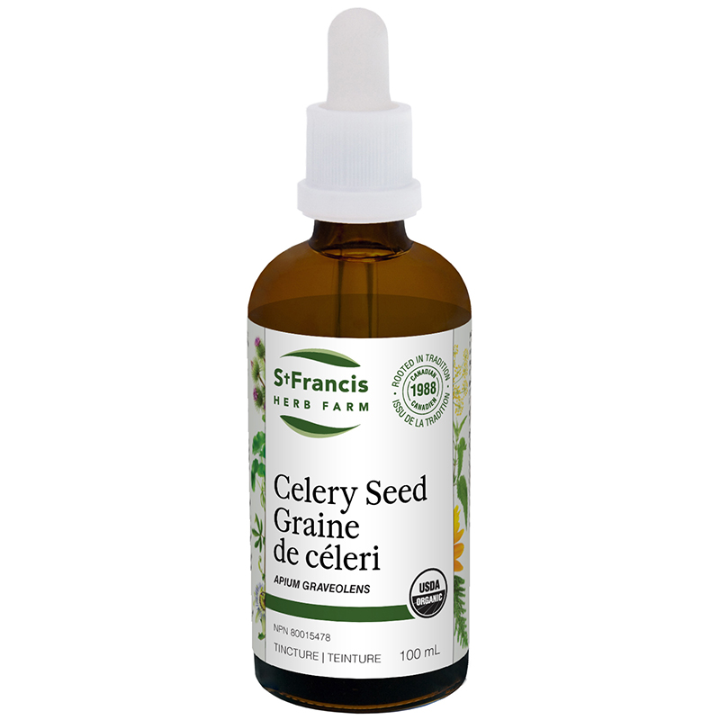 Celery Seed - By St. Francis Herb Farm