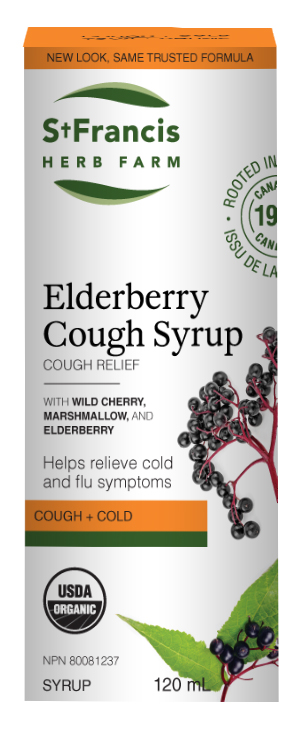 Elderberry Cough Syrup - By St. Francis Herb Farm