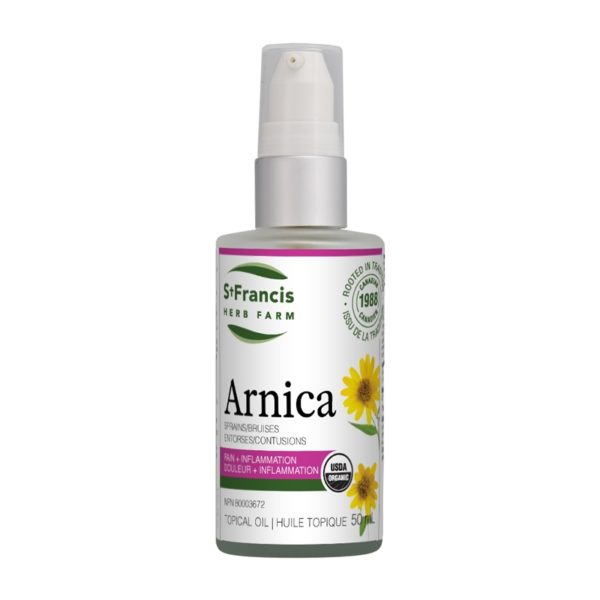 Arnica Oil for sprains & bruises