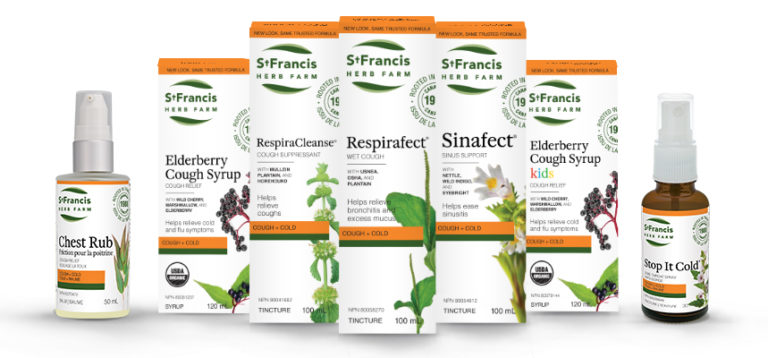 St Francis Herb Farm Cold & Flu Products