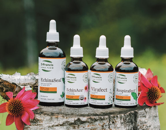 Cold & Flu Products by St Francis Herb Farm