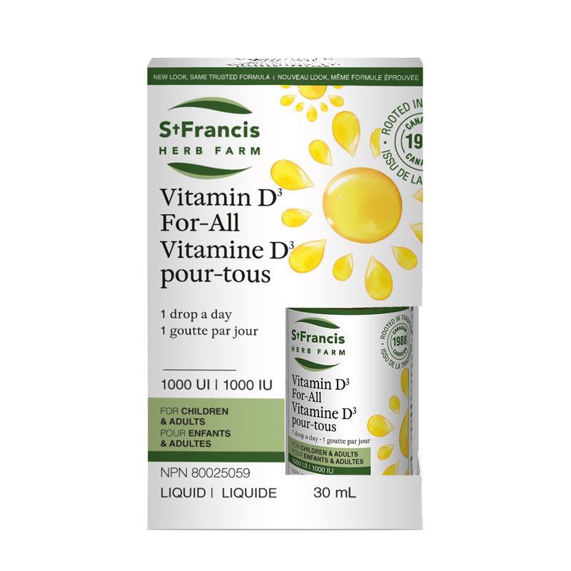 Vitamin D For All St Francis Herb Farm