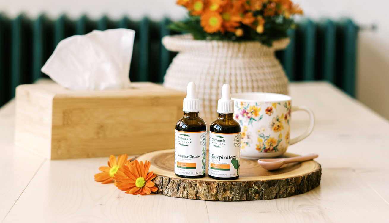 Breathe Easy! Herbal Support for cold & flu with Respiracleanse and Respirafect