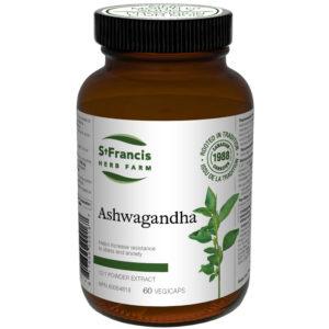 Ashwagandha Capsules by St Francis Herb Farm