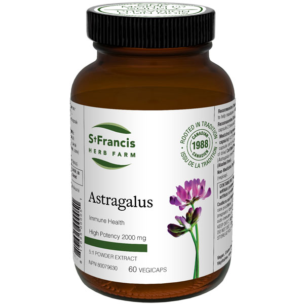 Astragalus Capsules by St Francis Herb Farm