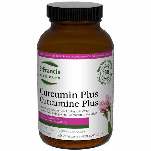 Curcumin Plus Capsules by St Francis Herb Farm