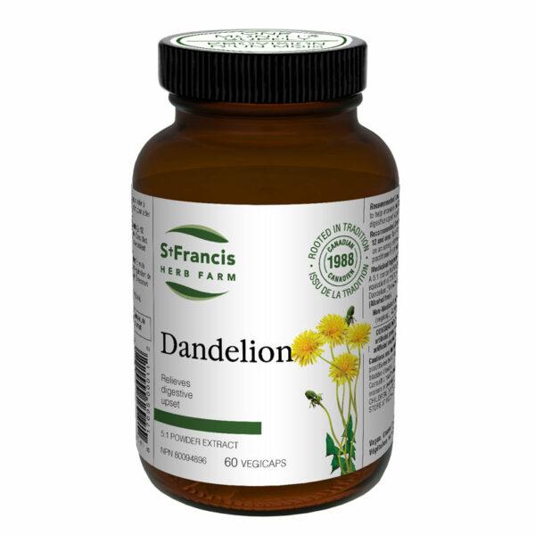 Dandelion Capsules by St Francis Herb Farm