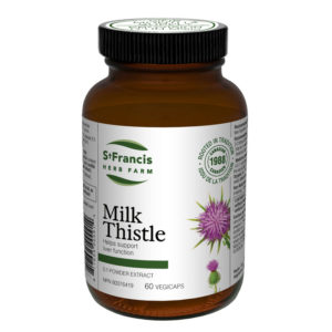 Milk Thistle Capsules by St Francis Herb Farm