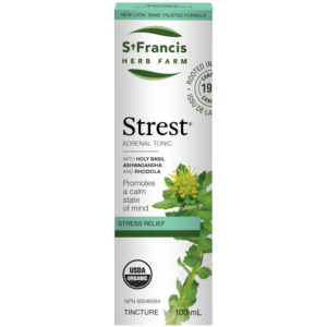 Strest Tincture - Stress Relief by St Francis Herb Farm