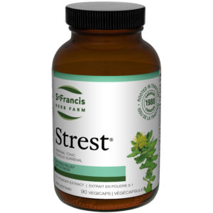 Strest Capsules by St Francis Herb Farm