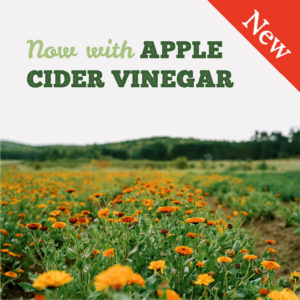 New: Now with Apple Cider Vinegar
