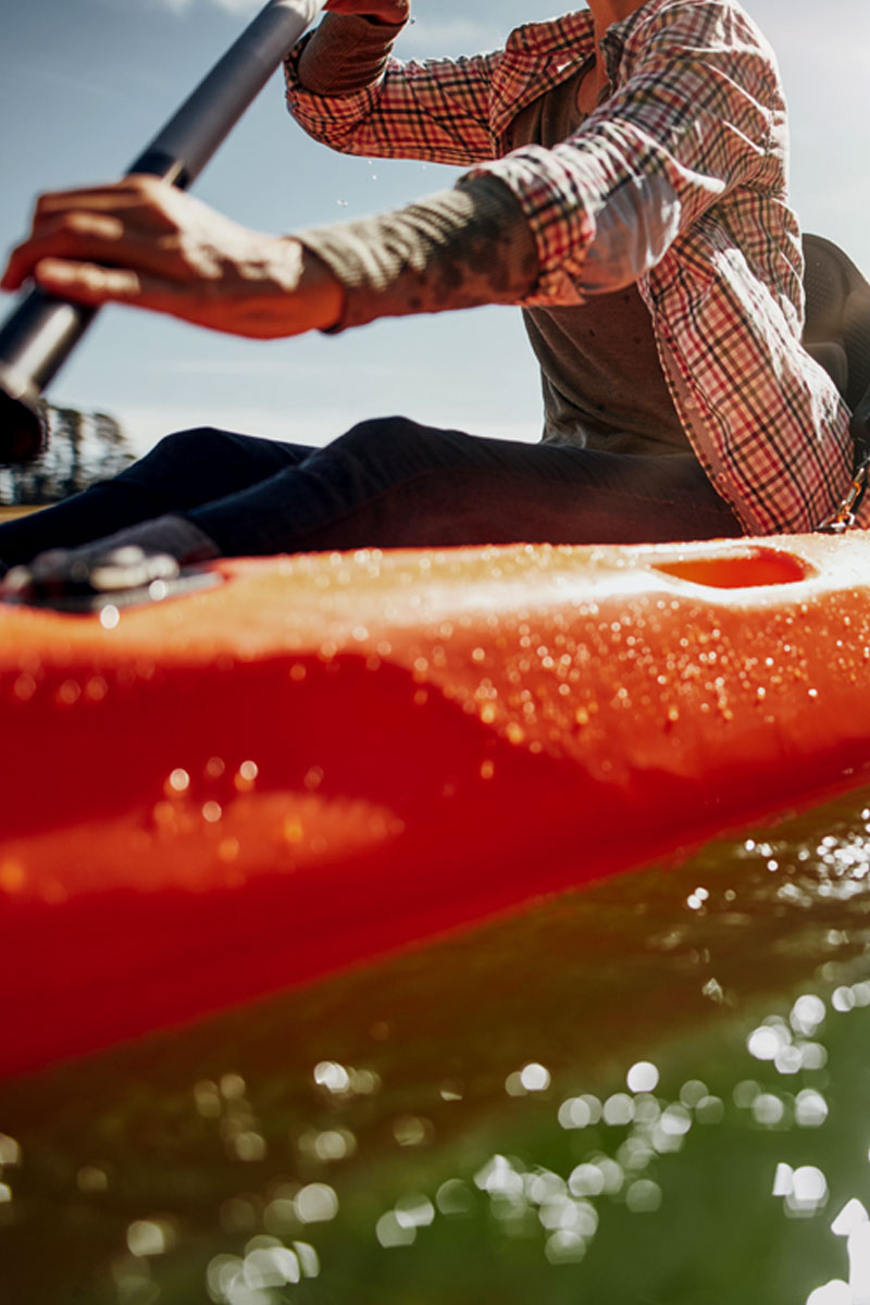 Paddling a Canoe Pain and Inflammation Free